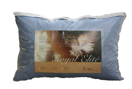 Royal Elite Coloured Feather Pillow Walmart Canada