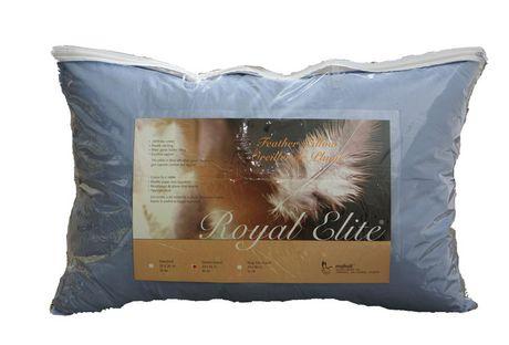 royal elite coloured feather pillow