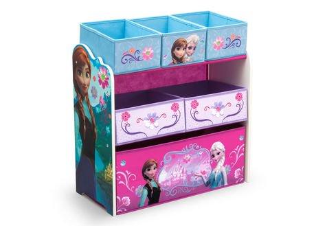 organiseur de jouets multi-boîtes la reine des neiges de disney