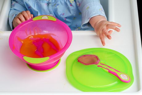 Vital Baby® Unbelievabowl™ Suction Bowl with Lid & Spoon - Pink - image 4 of 4