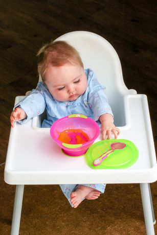 Vital Baby® Unbelievabowl™ Suction Bowl with Lid & Spoon - Pink - image 2 of 4