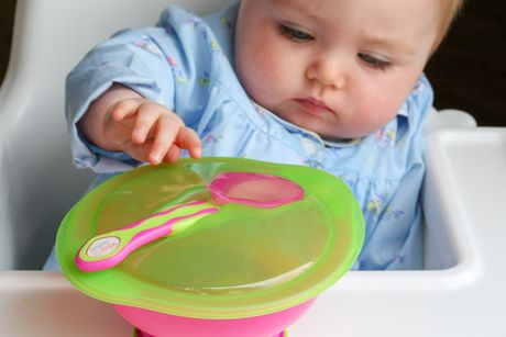 Vital Baby® Unbelievabowl™ Suction Bowl with Lid & Spoon - Pink - image 3 of 4