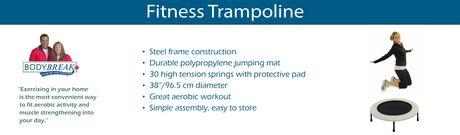 Body Break Mini Trampoline - image 7 of 7