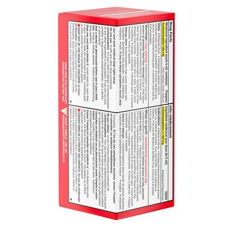 TYLENOL®Children's Acetaminophen Suspension Liquid - Dye-Free Soothing Berry, 100 ml - image 5 of 6