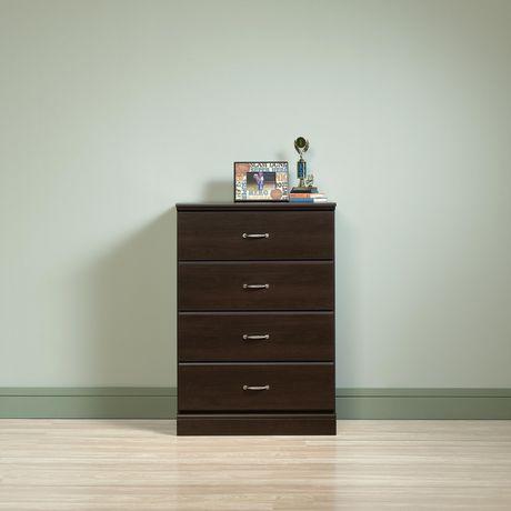 Sauder® Parklane Collection 4-Drawer Chest, Cinnamon Cherry, 424534 - image 4 of 4