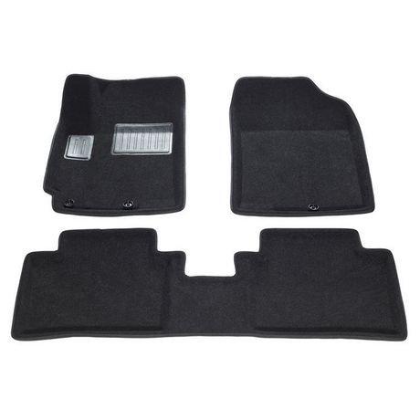 tapis de sol 3d de findway pour hyundai accent berline hatchback 2012 2016 28160bb noir. Black Bedroom Furniture Sets. Home Design Ideas