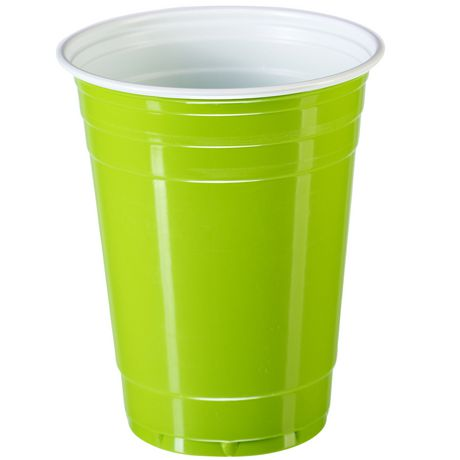 Goodtimes Coloured Plastic Cups - image 4 of 8