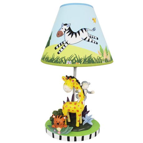 lampe safari au soleil de fantasy fields walmart canada. Black Bedroom Furniture Sets. Home Design Ideas