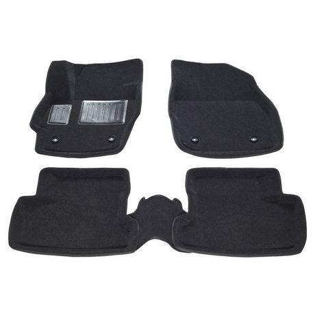 FINDWAY 3D Floor Mats for 2010-2013 Mazda3 Sedan / Hatchback - (40110BB) - Black - image 1 of 3