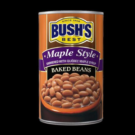 BUSH'S® Bush's Best Maple Style Baked Beans Can - image 1 of 4