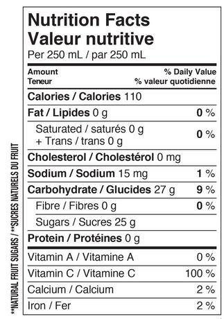 Allen's Low Acid Apple Juice 1.89L - image 3 of 3