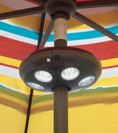 Island Umbrella 6-Light Rechargeable LED Umbrella Light - image 2 of 4