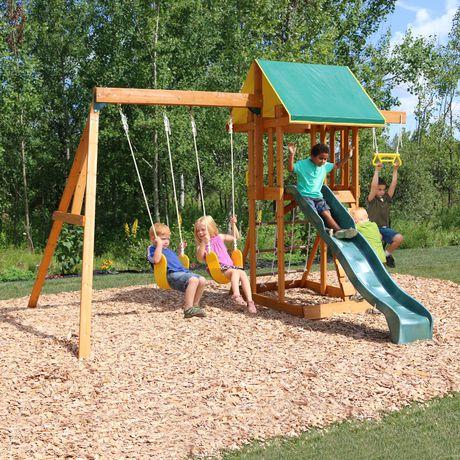 Big Backyard Meadowvale II Wooden Play Set - F24035 ...