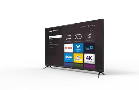 "RCA 55"" 4K LED Roku Smart TV, RTRU5528 - image 2 of 4"
