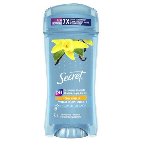 Secret Clear Gel Antiperspirant and Deodorant Va Va Vanilla - image 2 of 5