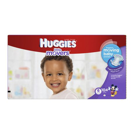 Huggies® Little Movers Diapers - image 1 of 1