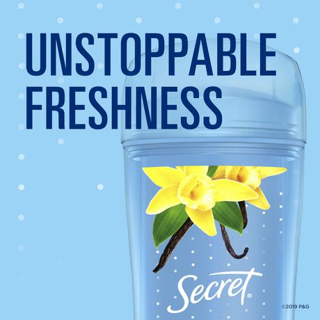 Secret Clear Gel Antiperspirant and Deodorant Va Va Vanilla - image 4 of 5