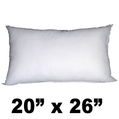 Hometex Polyester Filled Sleeping Pillow Insert Walmart Canada Amazing 26 By 26 Pillow Insert