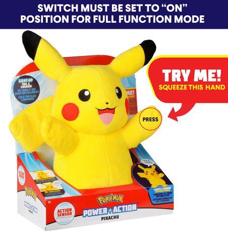 Pokémon Power Action Interactive Plush Pikachu - image 5 of 8
