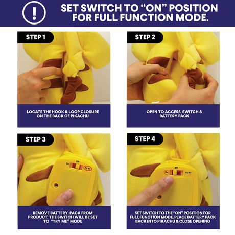 Pokémon Power Action Interactive Plush Pikachu - image 7 of 8