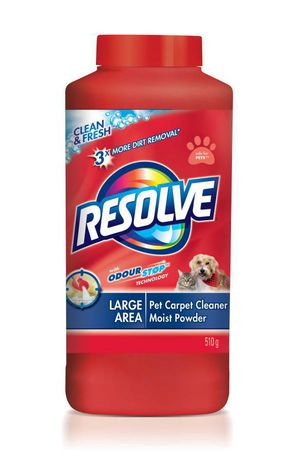 Resolve Pet, Dog & Cat Carpet Cleaner with Odour Stop, Clean & Fresh, Powder, 510 g - image 1 of 7