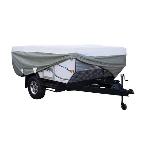 Classic Accessories Polypro 3 Folding Camping Trailer Cover, Fits 14' to 16' Long Trailers - image 1 of 5
