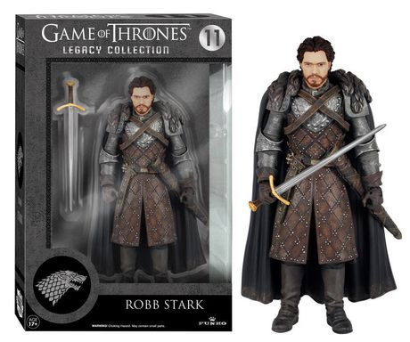 funko game of thrones legacy action robb stark action. Black Bedroom Furniture Sets. Home Design Ideas