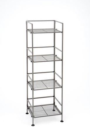 amazon bookshelf folding tier wooden kitchen uk book shelf stacking case shelves co dp home bookshelves