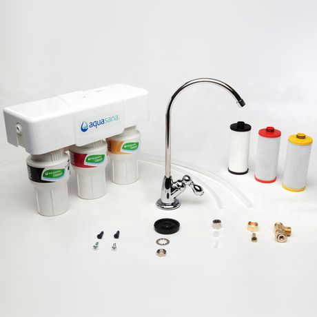 Aquasana Under Counter Water Filter System Walmart Canada