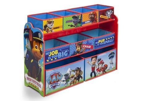 Paw Patrol Deluxe Multi Bin Toy Organizer Walmart Canada