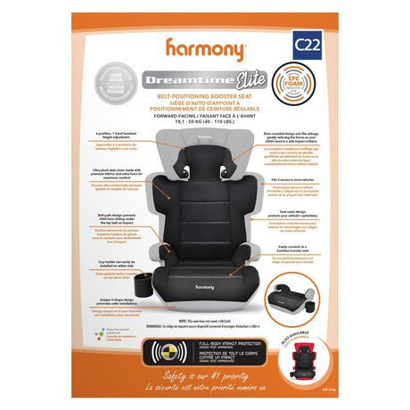 Harmony Dreamtime Elite Comfort Booster Car Seat - image 6 of 9