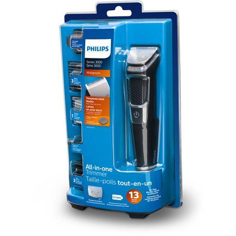 Tondeuse et rasoir électrique Multigroomer S3000 de Philips - image 3 de 4