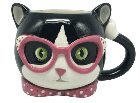 Designer cat box espresso