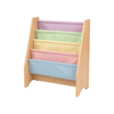 Kidkraft Pastel Sling Bookshelf - image 1 of 3