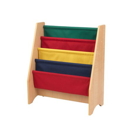 Kidkraft Primary Sling Bookshelf - image 1 of 5