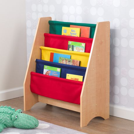 Kidkraft Primary Sling Bookshelf - image 2 of 5