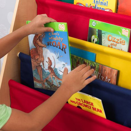 Kidkraft Primary Sling Bookshelf - image 5 of 5
