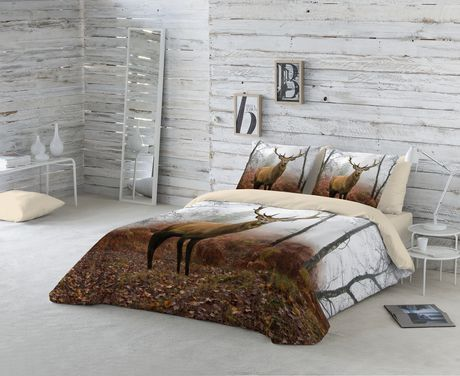 Gouchee Design Moose King Duvet Cover Set Walmart Canada - Tres grand lit design