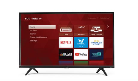 "TCL 32"" HD LED Roku Smart TV, 32S321-CA - image 1 of 8"