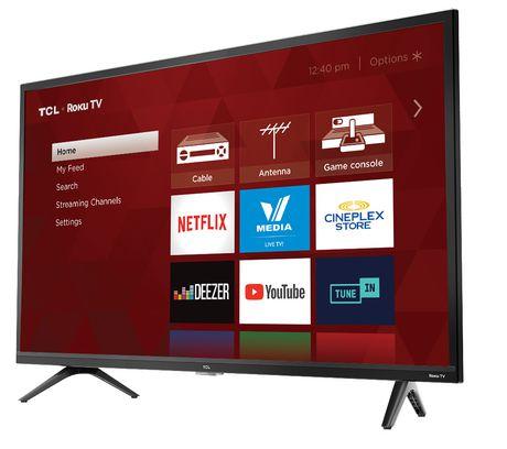 "TCL 32"" HD LED Roku Smart TV, 32S321-CA - image 2 of 8"