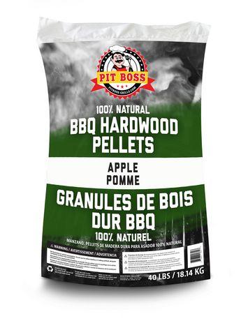 Pit Boss Apple Natural BBQ Hardwood Pellets - image 1 of 2