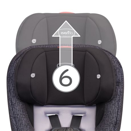 Evenflo® Stratos 65 Convertible Cars Seat Boulder - image 2 of 5