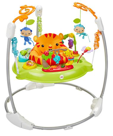 Fisher-Price Roarin' Rainforest Jumperoo - image 1 of 7