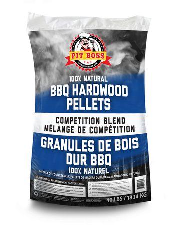 Pit Boss Competition Blend Natural BBQ Hardwood Pellets - image 1 of 2