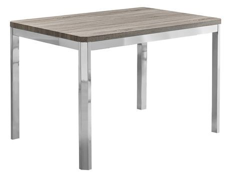 Table de salle manger monarch specialties en taupe for Table a manger taupe