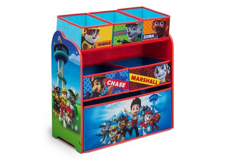 Organiseur de jouets multi-boîtes La Pat' Patrouille - image 1 de 1