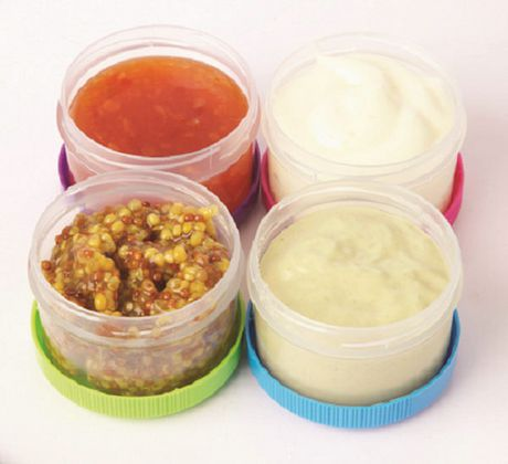 Sistema to Go Dressing Food Storage Containers - image 3 of 4