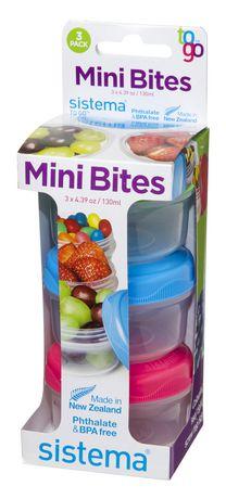 Sistema To Go Mini Bites Food Storage Containers