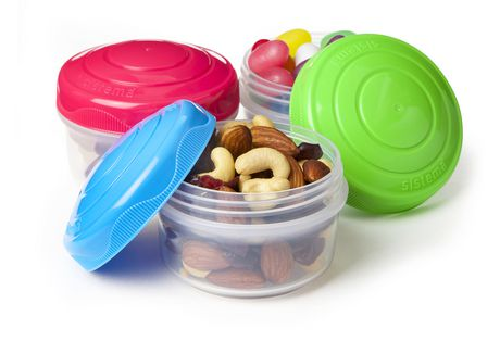 Rubbermaid Sistema Small Mini Bites Snack Containers, 3 Count - image 2 of 3