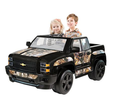 ROLLPLAY Chevy Silverado Realtree Ride-On - image 2 of 4